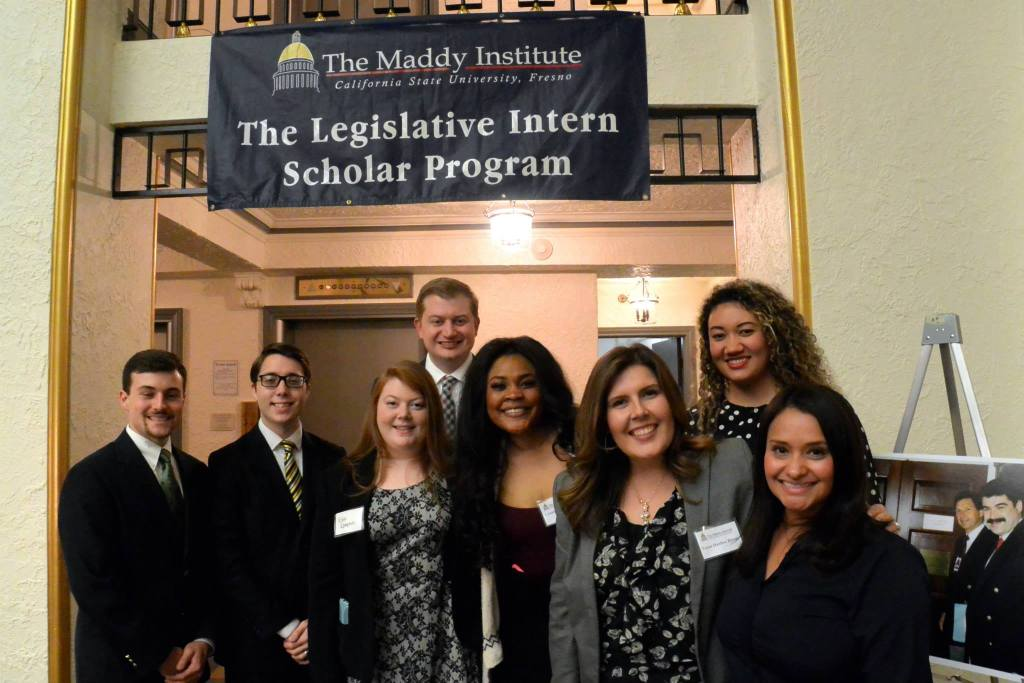 Maddy Interns and Alumni at the 2015 Beverly Scholarship Fundraiser