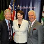 Maddy Exec. Dir. Mark Keppler, U.S. Sen. Dianne Feinstein, and Cong. Jim Costa